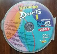 DUETS ONE KARAOKE CDG CHARTBUSTER 5025-01 CD+G MUSIC R&B,SOUL,OLDIES 17 SONGS