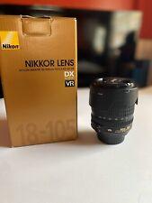 Nikon Nikkor 18-105mm F/3.5-5.6 G Aspherical ED DX AF-S VR AF-S Lens