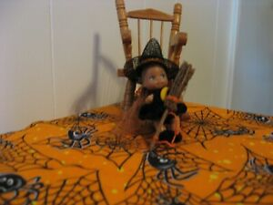 """WITCH DRESS SET FOR KRISSY OR SIMILAR SIZED 2 1/4"""" DOLL"""