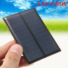 5.5V 0.66W 120mA Solar Panels Module Diy For Small Power System Battery � �