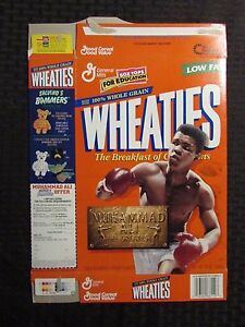 1999 MUHAMMAD ALI The Greatest - Wheaties Cereal Box VF- 7.0 Flat LOT of 3