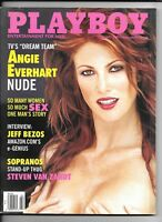Back Issue February 2000 Playboy Magazine ~ Angie Everhart Cover & Nude