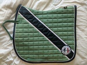 Limited Edition Eskadron Green Saddle Pad with Four (4) Matching Polos!