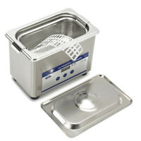 Ultrasonic Cleaner 0.8L Jewelry Cleaner Sonic Cleaning Machine Glasses Coins PCB