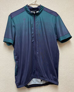 SPECIALIZED Short Sleeve Cycling Jersey Shirt  Full Zip Sz L EUC