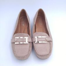 Women's Leather N5 Naturalizer Size 6.5 M - Tan Snakeskin Pattern with Buckle