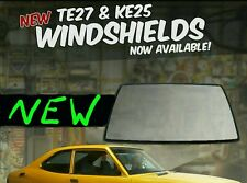 TE27 1971 1972 1973 1974 ke25 Toyota Corolla NEW windshield glass