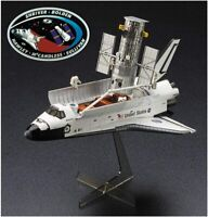 PSL Hasegawa 1/200 Hubble Telescope and Space Shuttle Astronaut with Emblem