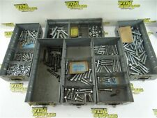 LARGE LOT OF ASSORTED HARDWARE HEX HEAD & ROD BOLTS