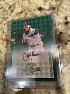 1998 Donruss Signature Millennium Marks Randy Johnson Autograph MINT