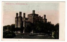 1906 Postmarked Postcard State Capitol Baton Rouge Louisiana LA