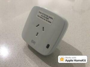 Elgato Eve Energy Switch Apple HomeKit Technology Bluetooth