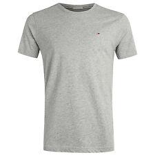 T-shirt Men Tommy Hilfiger Denim 1957888836 Original CN Knit Spring/summer Light Grey M