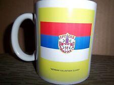 "ARKAN'S TIGERS (""Serbian Volunteer Guard"") Flag Coffee or Tea Mug, MINT, Serbia"