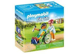 PLAYMOBIL® 70193 Patient im Rollstuhl