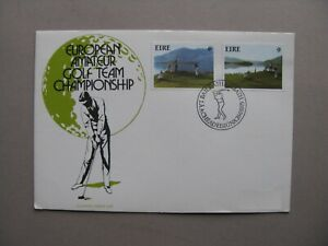 IRELAND, cover FDC 1975, golf sport