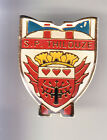 RARE PINS PIN'S .. POMPIER FIRE CASERNE BLASON ARM THILOUZE 37 ~CD