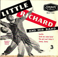 "LITTLE RICHARD  AND HIS BAND - 3   EP  FRANCE  LONDON  "" LUCILLE ""  [2]"