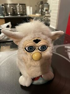Tiger Furby 1999 White Tested Partially Working