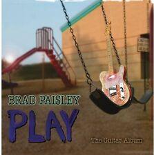 Play - Brad Paisley (2008, CD NUEVO) 888837169929