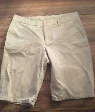 Gap Womans Ladies Size 12 Shorts Khaki