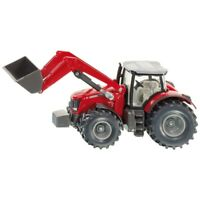 1:50 Siku Massey Ferguson Tractor With Front Loader - 150 Scale 1985 Diecast
