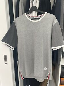 Thom Browne T-shirt Size 4 Gray