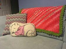 Corner To Corner Crochet Handmade square Baby Blanket