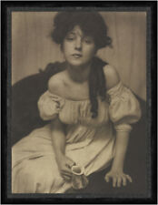 Portrait Miss N., Evelyn Nesbit, from Camera Work No. 1 Frauen Dame Faks_S 089