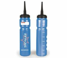 Hockey Trinkflasche TOP ON ICE 'Silver Safe' 1.0L Langer Halm