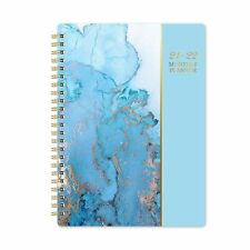 2021 2022 Monthly Planner 18 Month Planner With Tabs Amp Pocket Contacts And