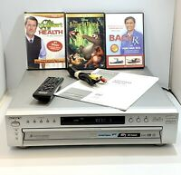 Sony DVP-NC615 5 Disc DVD/CD Changer with RCA Cable, Sony Remote & Manual Tested