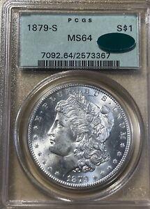 1879-S OGH! PCGS/CAC  MS64 Morgan Silver Dollar