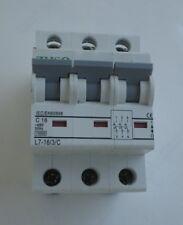 Disjoncteur coupe circuit triphasé modulaire 16 ampères neuf garantie 3 ans