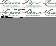 Catalytic Converter-Exact-Fit Davico Exc CA 17019