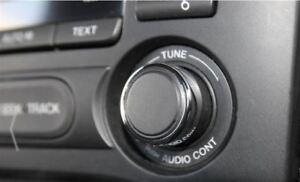 Mazda MX5 Mk3 3.5 3.75  Alloy Chromed Radio Knob Covers 2005-2015 yrs Aluminium