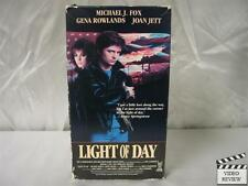 Light of Day VHS Michael J. Fox, Gena Rowlands