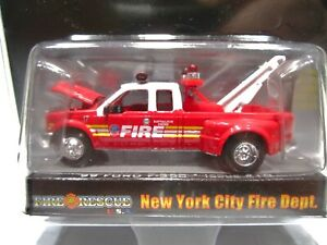 Racing Champions Fire & Rescue USA New York Fire Dept. '99 Ford F-350 Issue #10