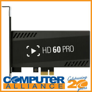 Elgato HD60 Pro PCIe Game Capture Card PN 1GC109901002