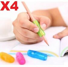 4pcs Soft Silicone Pencil Grip for kids Pupils Children Writing Handwriting