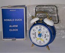 Donald Duck Bradley alarm clock mint original box unused western Germany