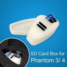 Memory SD Card Protector Box Storage Case Holder For DJI Phantom 3/4 Quadcopter
