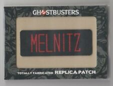 2016 Ghostbusters Totally Fabricated Replica Patch Trading Card #H5 Melnitz