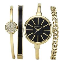 Anne Klein Watch * 1470GBST Gold Pave Steel Gift Set for Women COD PayPal