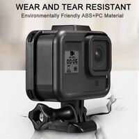 e Case Border Protective Cover ABS Housing Mount Base for Gopro Hero 8 Blac B6I9