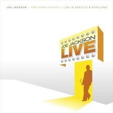 Two Rainy Nights: Live in Seattle & Portland by Joe Jackson CD, 2004   BRAND NEW