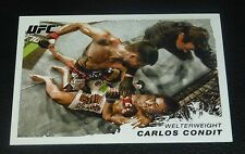 Carlos Condit UFC 2011 Topps Moment of Truth Card #155 158 154 143 132 120 115