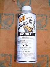 Honda Lack Laque Color Sulfur Yellow gelb Y-34 GL 1000