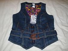 Miss sixty denim gilet / brand new with tag / size S