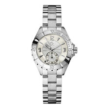 NEW GUESS COLLECTION GC SPORT XL LADY WATCH SS STAINLESS STEEL BRACELET A70000L1